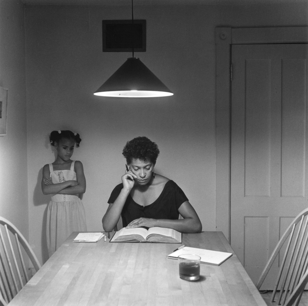 Carrie Mae Weems, from Kitchen Table Series, 1990